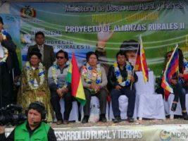 Presidente Evo Morales en El Alto