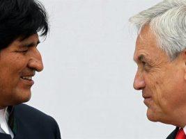 Presidentes de Bolivia y Chile