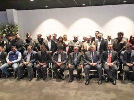 Delegación boliviana en La Haya