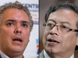 Candidatos presidenciales Colombia