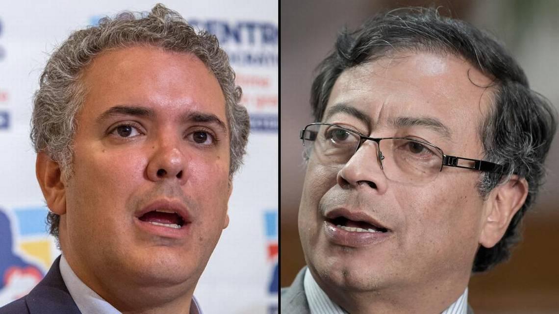 Iván Duque y Gustavo Petro serán los candidatos presidenciales en Colombia