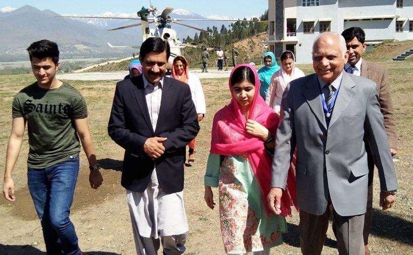 Malala volvió a su pueblo natal, donde fue atacada en 2012