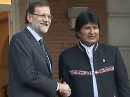Presidentes de España y Bolivia