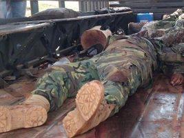 Hay tres arrestados por caso del asesinato de militares