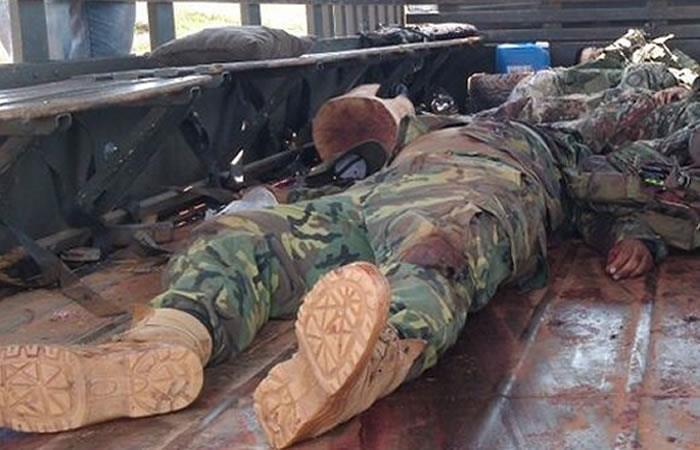Hay tres arrestados por caso del asesinato de militares en Sabaya