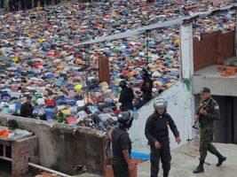 Operativo policial realizado en Palmasola
