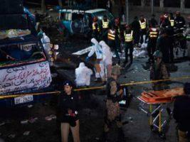 Atentado suicida en el este de Pakistán