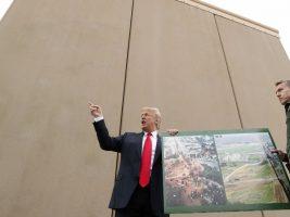 """""""El muro fronterizo de Mexico es nuestra primera línea de defensa"""", sostuvo"""