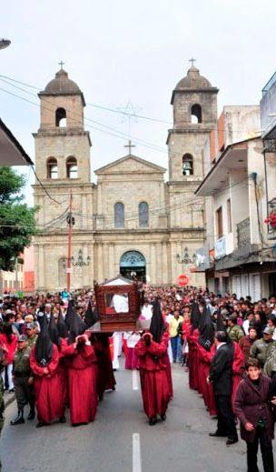 La procesión de Viernes Santo revive la fe de Tarija