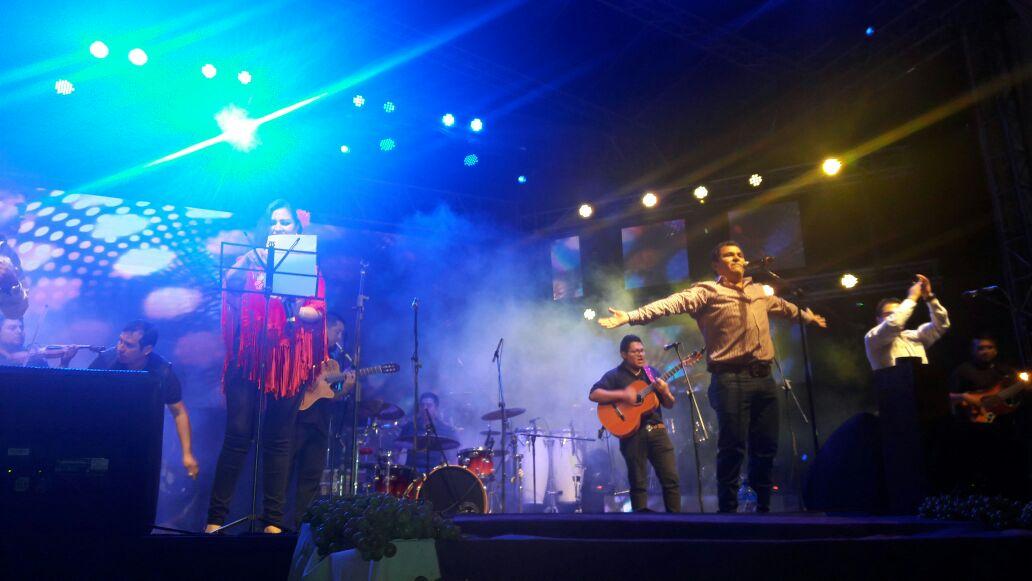 Más de 5.000 personas disfrutaron de la Serenata de la Vendimia Chapaca en Uriondo