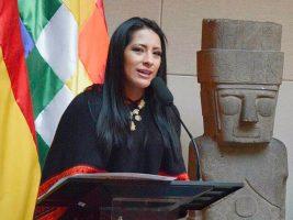 Ministra de Cultura de Bolivia