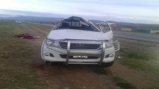 Banderazo deja un muerto y siete heridos en 3 accidentes carreteros