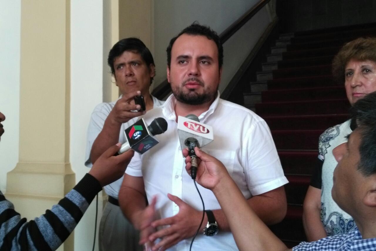 Comisión de la planta de tratamiento no viajará a La Paz por arribo de la viceministra a Tarija
