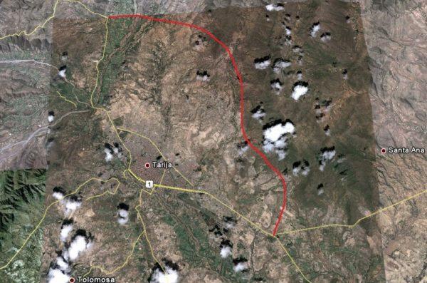 Por dejadez de autoridades en Tarija no se llevó a cabo la construcción de la Avenida Ecológica