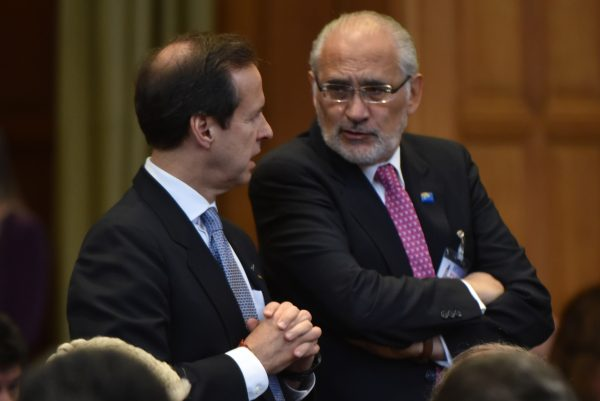 Mesa y Quiroga no se arrepienten de juicio en la CIJ a Chile