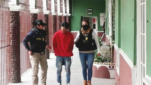Policía aprehende a padrastro por abuso sexual a una niña