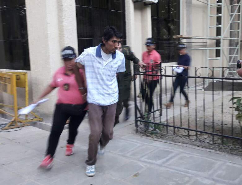 Dictan prisión en Morros Blancos para el feminicida del barrio El Rosedal de Tarija