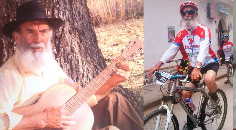 Don 'Firpo' Romero, más de 50 años pedaleando historias