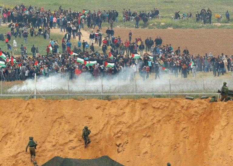 Ocho muertos en protesta de gazatíes en la frontera con Israel