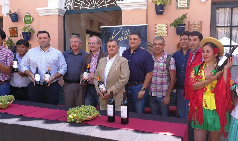 Kohlberg exportará 2 millones de botellas de vino tarijeño a China