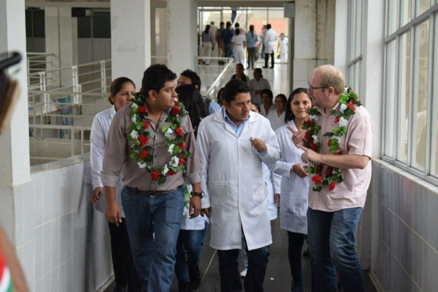 Inauguran sala de terapia intensiva del Hospital Virgen de Chaguaya en Bermejo