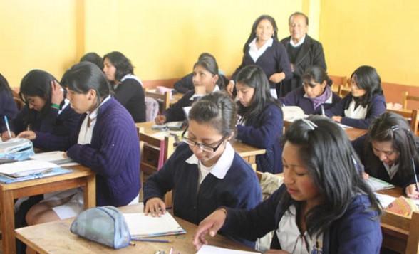Dirección de Educación de Tarija señala que las clases serán normales esta tarde en los diferentes colegios