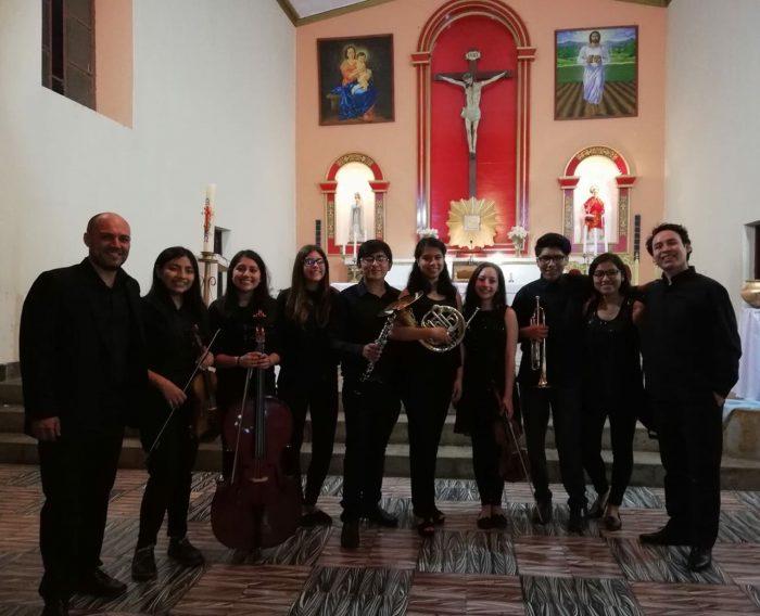 Jóvenes tarijeños son seleccionados para en Encuentro Orquestal con el maestroLeonard Elschenbroich