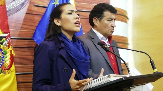 MAS fustiga a vocal Sandoval, la acusa de mentir y tener inclinación política
