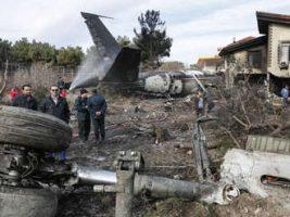 Un avión de carga se estrelló en Irán