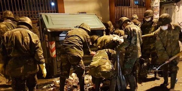 Efectivos de las Fuerzas Armadas recogieron 150 toneladas de basura