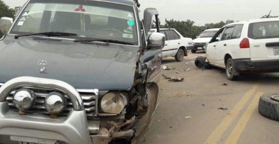 Conductor en estado de ebriedad provoca una colisión en la ruta 9 de Yacuiba