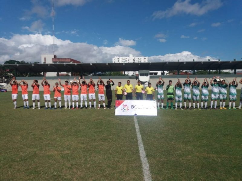 Tarija empata en su visita a Santa Cruz por la Copa Estado Plurinacional