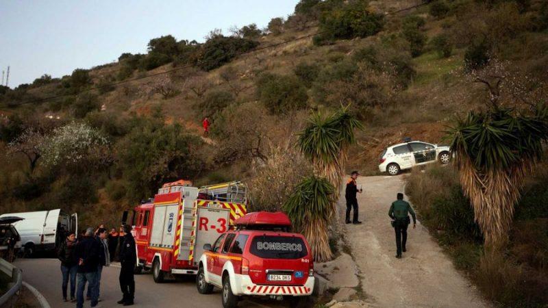 Desesperada búsqueda de un niño que cayó en un pozo de 110 metros en España