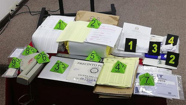Descubren organización que suplantaba los exámenes en la Academia de Policías