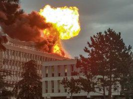 Explosión que causó pánico en una universidad en Francia