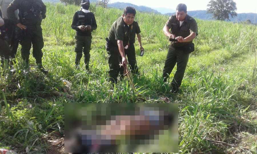 Policía investiga un probable feminicidio en Bermejo