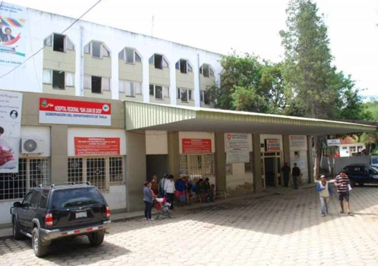 Hospital de Tarija carece de ambientes adecuados para tratar infecciones como las presentadas en La Paz
