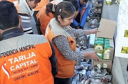 Intensifican control en venta de bebidas alcohólicas a menores de edad en Tarija