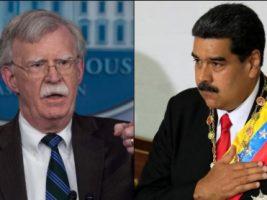 Consejero de Seguridad Nacional de EEUU y líder de Venezuela