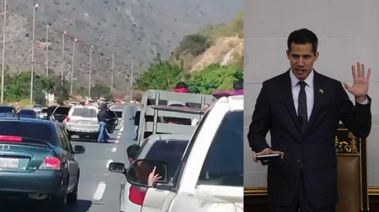 Los servicios de inteligencia de Nicolás Maduro detuvieron a Juan Guaidó y lo liberaron minutos después