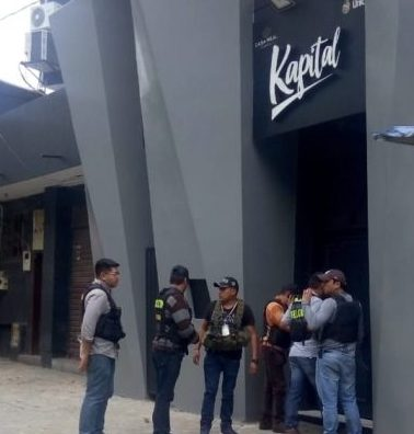 "Felcn realiza allanamiento en discoteca ""Kapital"" de Tarija"