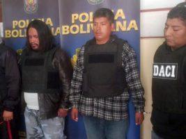 Banda criminal operaba en La Paz