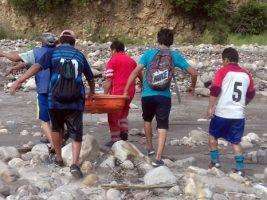 El río lo arrastró Niño muere ahogado al intentar rescatar su pelota