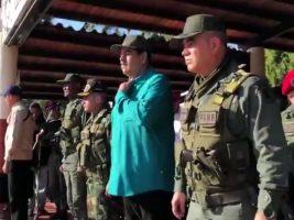 Pidió lealtad al ejercito de Venezuela