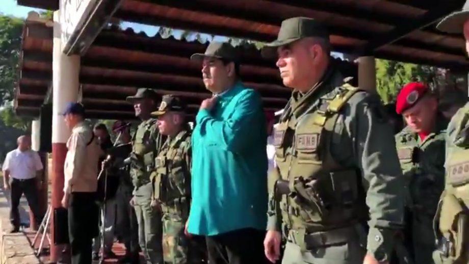 Maduro pidió lealtad al Ejército: