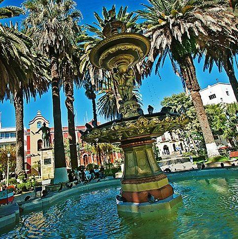 Plaza Luis de Fuentes de Tarija