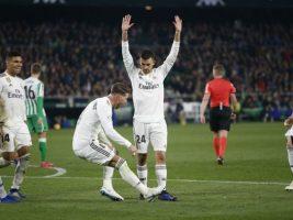 Real Madrid se impuso sobre la hora ante el Betis