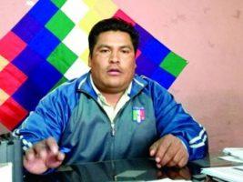 Dirigete campesinos de Chuquisaca