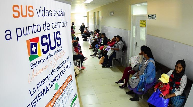 Gobierno desembolsa recursos para pago de sueldos y compra de productos para el SUS en Tarija