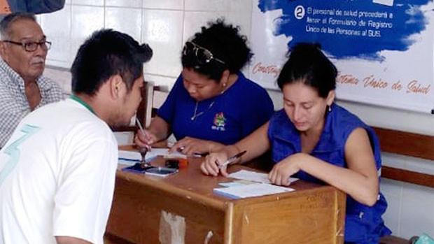 Más de 850.000 personas se inscribieron al Sistema Único de Salud en 25 días